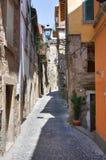 Alleyway. Soriano nel Cimino. Lazio. Italy. Alleyway of Soriano nel Cimino. Lazio. Italy Royalty Free Stock Photos