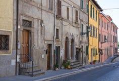 Alleyway. Soriano nel Cimino. Lazio. Italy. Alleyway of Soriano nel Cimino. Lazio. Italy Stock Photo