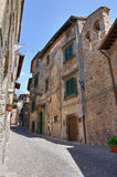 Alleyway. Soriano nel Cimino. Lazio. Italy. Alleyway of Soriano nel Cimino. Lazio. Italy Stock Photography