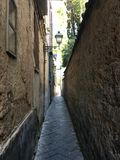 Alleyway in Sorrento, Italy Stock Photos