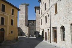 Alleyway. Spello. L'Umbria. Immagine Stock Libera da Diritti