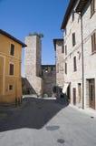 alleyway spello Umbria fotografia royalty free