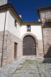 alleyway Spello Umbria Włochy fotografia royalty free