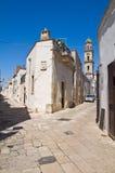Alleyway. Sternatia. La Puglia. L'Italia. Fotografia Stock Libera da Diritti