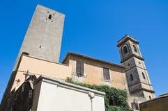Alleyway. Tarquinia. Il Lazio. L'Italia. Fotografia Stock