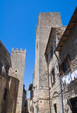 Alleyway. Tarquinia. Lazio. Italy. Royalty Free Stock Photos
