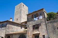 Alleyway. Tarquinia. Lazio. Italy. Stock Image