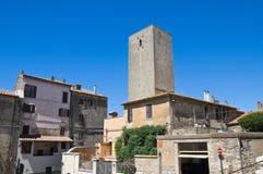 Alleyway. Tarquinia. Lazio. Italy. Royalty Free Stock Photo