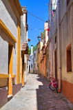 Alleyway. Taurisano. Puglia. Italy. Royalty Free Stock Photos