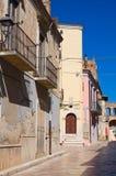 alleyway Torremaggiore La Puglia L'Italia Immagini Stock