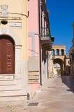 alleyway Torremaggiore La Puglia L'Italia Immagini Stock Libere da Diritti