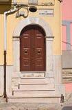 alleyway Torremaggiore La Puglia L'Italia Fotografie Stock