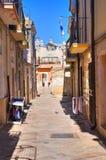 alleyway Torremaggiore La Puglia L'Italia Fotografia Stock