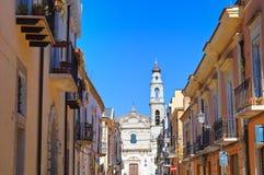 alleyway Torremaggiore La Puglia L'Italia Fotografia Stock Libera da Diritti