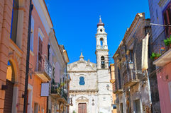Alleyway. Torremaggiore. Puglia. Italy. Stock Image