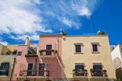 alleyway Trani La Puglia L'Italia Fotografia Stock