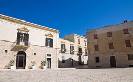 Alleyway. Trani. Puglia. Italy. Royalty Free Stock Photos