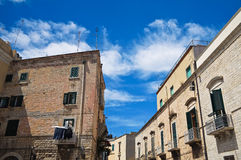 Alleyway. Trani. Puglia. Italy. Royalty Free Stock Photography