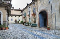 Alleyway. Travo. Emilia-Romagna. Italy. Stock Photos