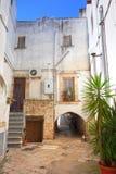 alleyway Turi La Puglia L'Italia Immagini Stock