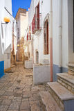 alleyway Turi La Puglia L'Italia Fotografia Stock