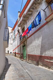 Alleyway. Tursi. Basilicata. Italy. Royalty Free Stock Photography