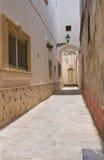 Alleyway. Ugento. Puglia. Italy. royalty free stock image