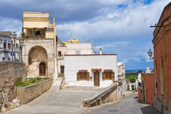 Alleyway. Ugento. Puglia. Italy. royalty free stock images