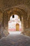 Alleyway. Ugento. Puglia. Włochy. obrazy royalty free