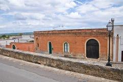 Alleyway. Ugento. Puglia. Włochy. obraz stock
