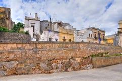 Alleyway. Ugento. Puglia. Włochy. fotografia royalty free