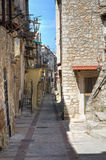 Alleyway. Vico del Gargano. Puglia. Italy. Royalty Free Stock Photography