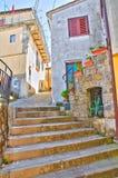 Alleyway. Viggianello. Basilicata. Italy. Stock Photos