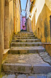 Alleyway. Viggianello. Basilicata. Italy. Stock Image