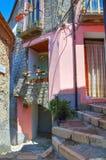 Alleyway. Viggianello. Basilicata. Italy. Royalty Free Stock Image