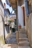 Alleyway. Viggianello. Basilicata. Italy. Royalty Free Stock Photos