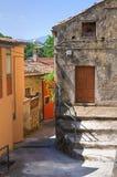 alleyway Viggianello La Basilicata L'Italia Fotografie Stock Libere da Diritti