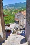 alleyway Viggianello La Basilicata L'Italia Fotografia Stock