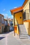 alleyway Viggianello La Basilicata L'Italia Immagini Stock
