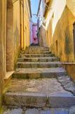 alleyway Viggianello La Basilicata L'Italia Immagine Stock