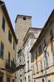 Alleyway. Viterbo. Il Lazio. L'Italia. Fotografia Stock