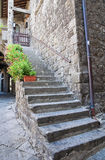 Alleyway. Viterbo. Lazio. Italy. Royalty Free Stock Photography