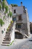Alleyway. Viterbo. Lazio. Italy. Stock Image