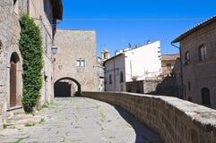 Alleyway. Viterbo. Lazio. Italy. Stock Photography