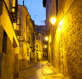 Alleyways in Cuenca Royalty Free Stock Images