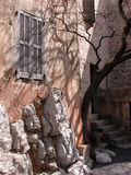 Alleyways of Gourdon, Provence Royalty Free Stock Photo