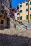 Alleyways of the historic Venice Stock Image