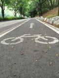 Allez à vélo la route photo libre de droits