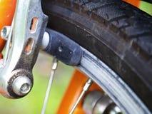 Allez à vélo le frein Images libres de droits