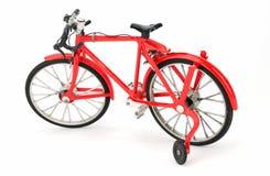 allez à vélo le rouge Photos stock